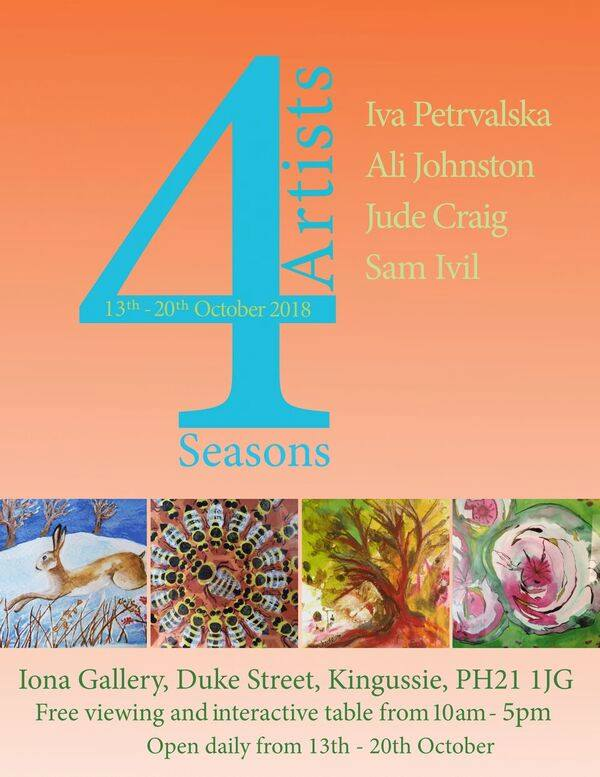 4 seasons2c 4 artists