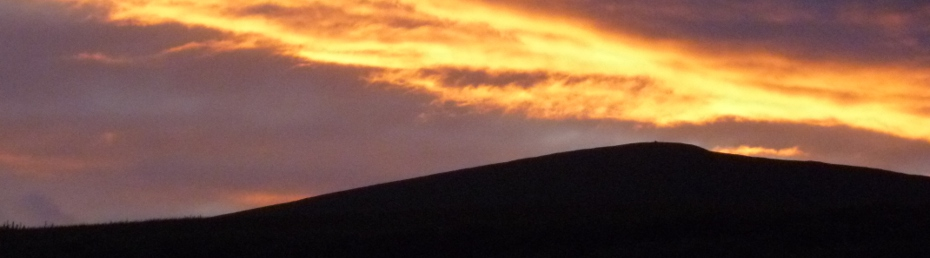 Newtonmore Sunset